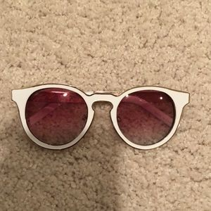 white free people sunglasses